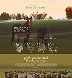 Agriculture WordPress Template 55354