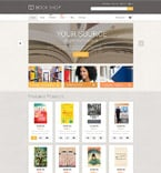 Books WooCommerce Template 55360
