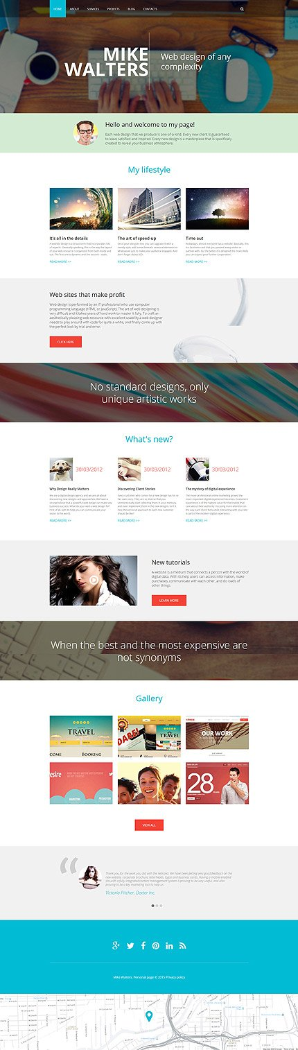 Drupal Template 55363 Main Page Screenshot