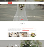 Wedding Drupal  Template 55366