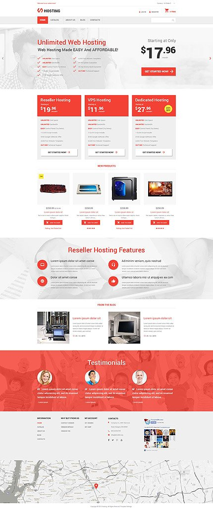 ADOBE Photoshop Template 55367 Home Page Screenshot