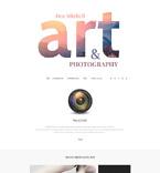 Art & Photography Joomla  Template 55368