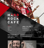 Cafe & Restaurant Joomla  Template 55369