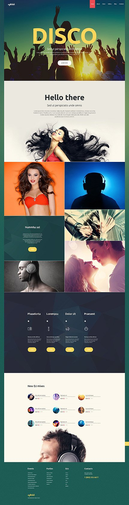 Website Template #55370