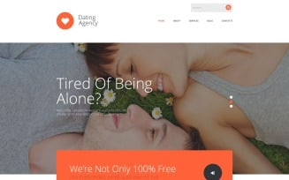 Dating Agency Joomla Template