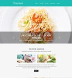 Cafe & Restaurant Muse  Template 55375