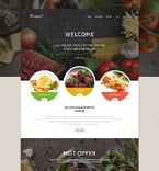 Cafe & Restaurant WordPress Template 55376