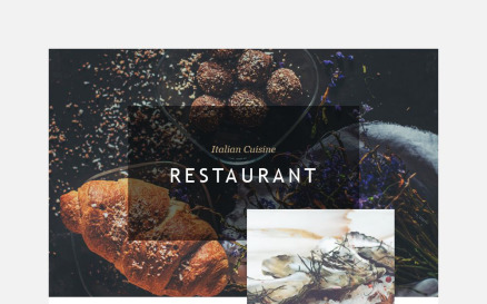 Cafe and Restaurant Newsletter Template