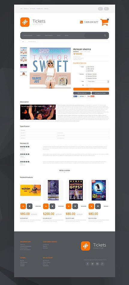 ADOBE Photoshop Template 55381 Home Page Screenshot