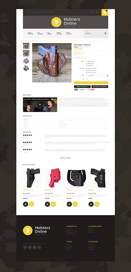 ADOBE Photoshop Template 55382 Home Page Screenshot