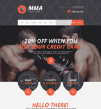 Sport Shopify Template 55383