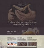 Religious Website  Template 55390