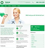 Medical Moto CMS 3  Template 55395