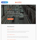 Media Landing Page  Template 55399