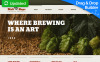 Адаптивный MotoCMS 3 шаблон №55335 на тему пивоварня New Screenshots BIG