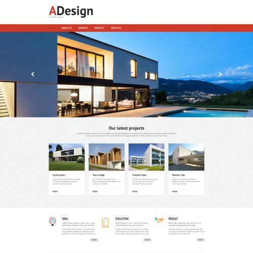 A Design - Architectural Company Template