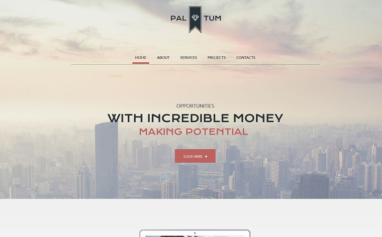 Corporate Site Website Template