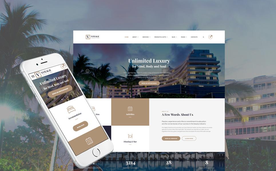 Mod le web adaptatif 55353 pour site d 39 h tel for Site web pour hotel