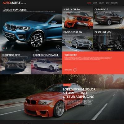 Moto CMS HTML Vorlage für Automobilclub