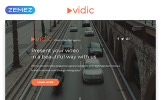 Responsive Vidic - Video Lab Creative HTML Açılış Sayfası Şablonu