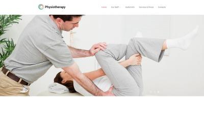 Responsywny szablon strony www #55386 na temat: rehabilitacja #55386