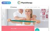 Responsywny szablon strony www Physiotherapy - Rehabilitation Responsive Modern HTML #55386