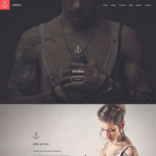Tattoo - Responsive Drupal Template