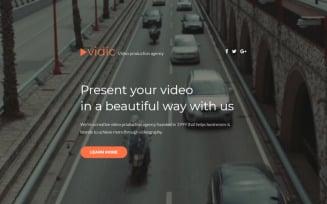 Vidic - Video Lab Creative HTML Landing Page Template