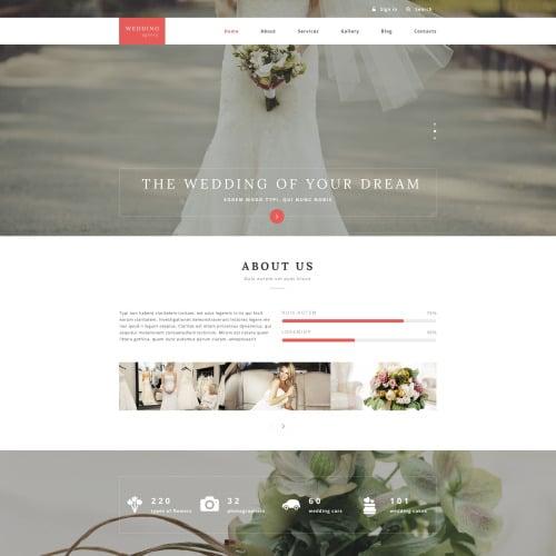 Wedding Planner - Responsive Drupal Template
