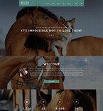 Animals & Pets Joomla  Template 55403