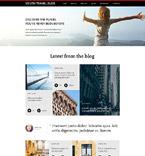 Travel Website  Template 55406