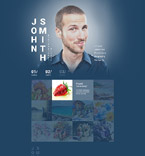 Personal Page Website  Template 55409