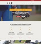 Sport Website  Template 55410