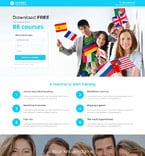 Education Landing Page  Template 55418