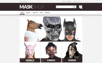 Creepy Masks VirtueMart Template