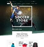 Sport OpenCart  Template 55431