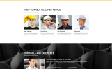 Mining - Industrial Responsive Creative HTML Website Template