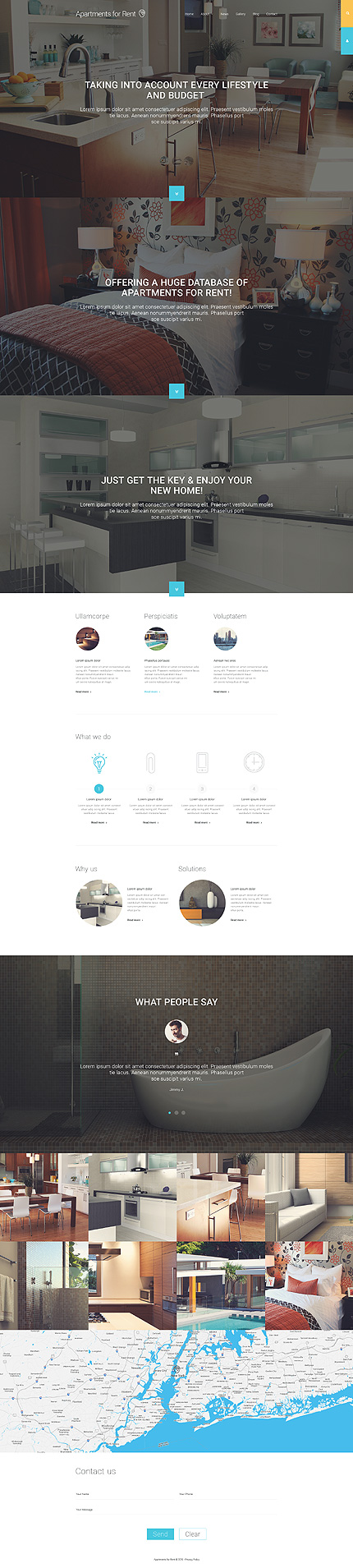 Joomla Theme/Template 55436 Main Page Screenshot