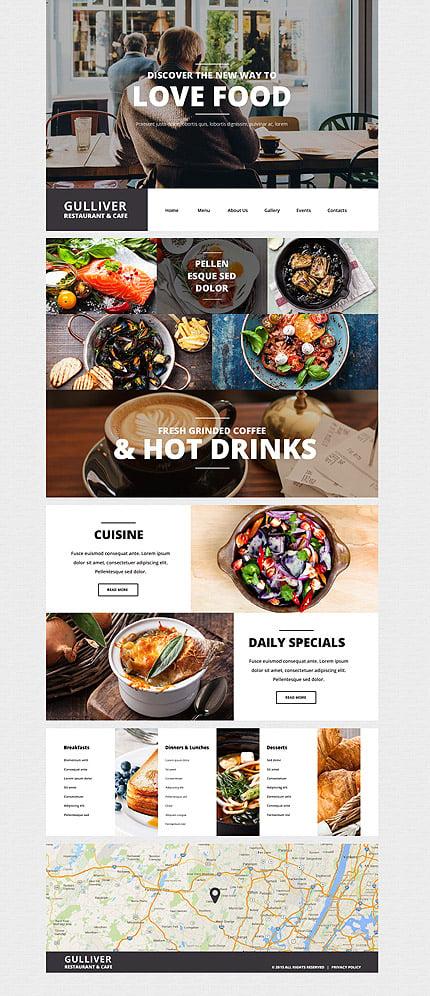 Download templatemonster 55438 gulliver restaurant 20 discount download templatemonster 55438 maxwellsz