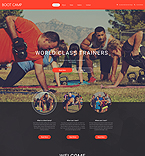 Sport Website  Template 55440