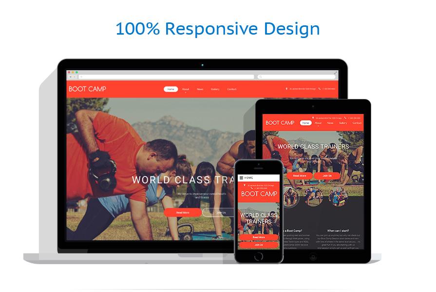 Modèles HTML5 Sport #55440