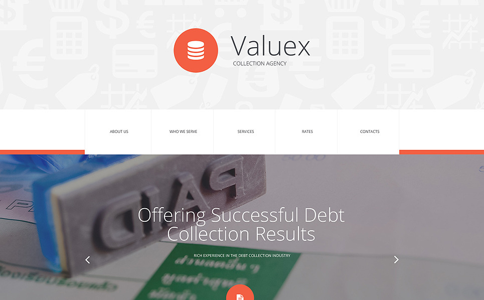 Szablon Strona Www #55441 na temat: biznes i usługi New Screenshots BIG