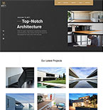 Architecture Website  Template 55445