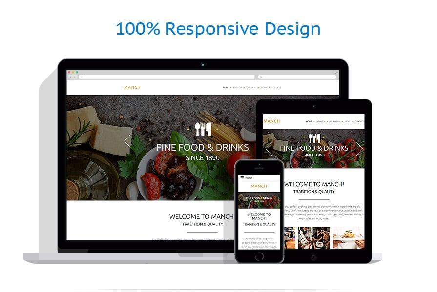 Modèles HTML5 Café et Restaurant #55450