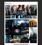 Entertainment WordPress Template 55456