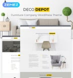 Furniture WordPress Template 55460