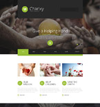 Charity Joomla  Template 55462