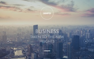 Smartex - Business Consulting Clean HTML5 Landing Page Template