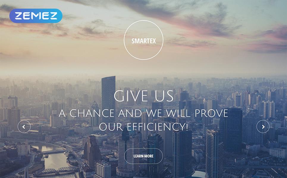 Responsive Landingspagina Template over Business & Diensten New Screenshots BIG