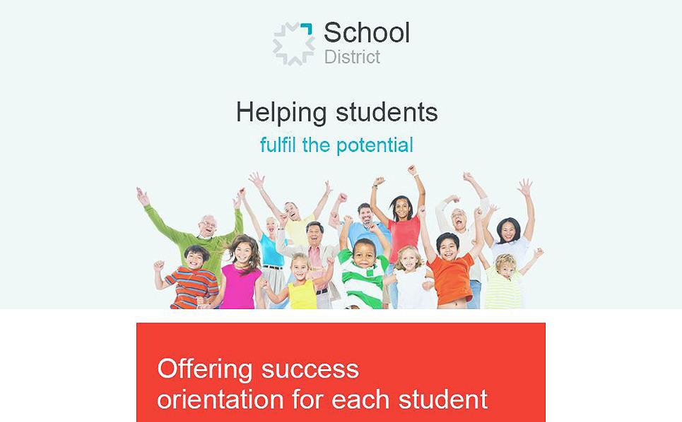 Responsywny szablon Newsletter #55469 na temat: uniwersytet New Screenshots BIG
